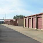 exterior access storage units