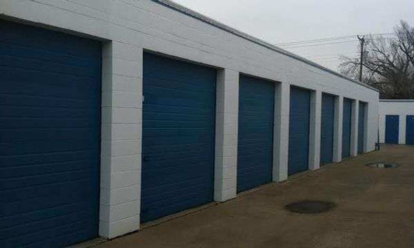 drive up storage units at our Haltom City, TX storage facility