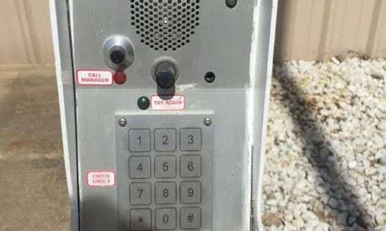 electronic keypad access