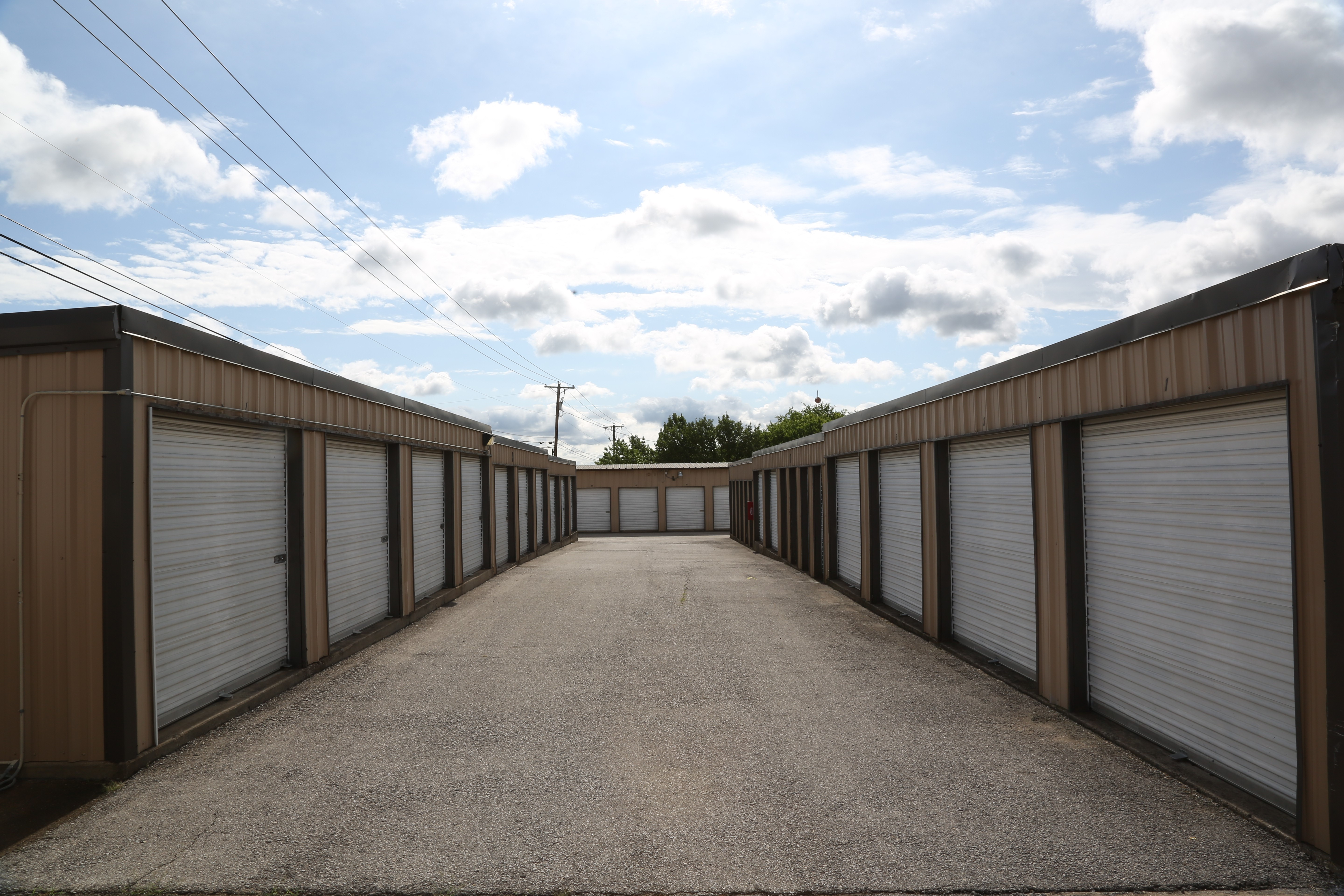 Storage units of all sizes