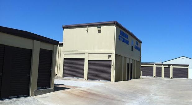 Drive-up self storage units Keller, TX