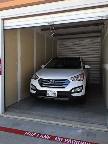 SUV's Fit Comfortably Inside Our Storage Units