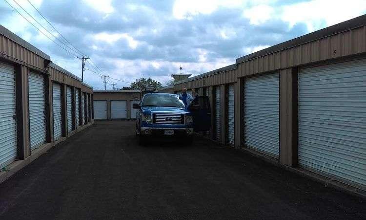 Todd Self Storage Has Wide Driveways